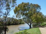 Werribee / Riverbend Historical Park, Heaths Road / Pathway down to Werribee River and canoe launching deck