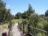 Werribee / Parkland along Werribee River, Riversdale Road near Maclean Court / Bridge through wetlands near Maclean Court