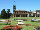 Werribee / Werribee Park and The Mansion, Werribee South / View across parterre towards The Mansion