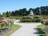 Werribee / Victoria State Rose Garden at Werribee Park, Werribee South / Path around rotunda