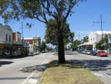 Williamstown / Commercial centre and shops - Ferguson Street and Douglas Parade / View east along Ferguson St towards Bath Pl