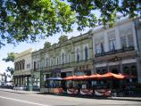 Williamstown / Nelson Place and shops / Cafes and restaurants, view south along Nelson Pl towards Cole St