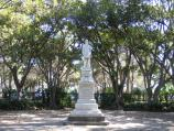 Williamstown / Fearon Reserve and Williamstown Botanic Gardens, Giffard Street / Alfred Thomas Clark statue, Botanic Gardens
