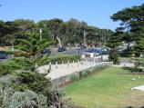 Williamstown / Williamstown Beach, Esplanade / View east along foreshore and Esplanade towards Fearon Reserve from Rotunda