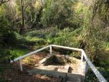 Yackandandah / Molyneux's Mineral Spring, Mineral Lane at Commissioners Creek / Mineral spring
