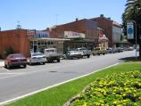 Yarram / Shops, Commercial Road / View north along Commercial Rd towards Yarram St