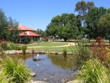 Yarram / Yarram Memorial Park, corner Commercial Road and Grant Street / Pond