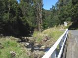 Yarram / Tarra Valley Road, north-west of Yarram / View along Tarra River from bridge