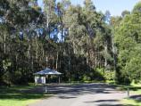 Yarram / Tarra - Bulga National Park / Car park and BBQ shelter