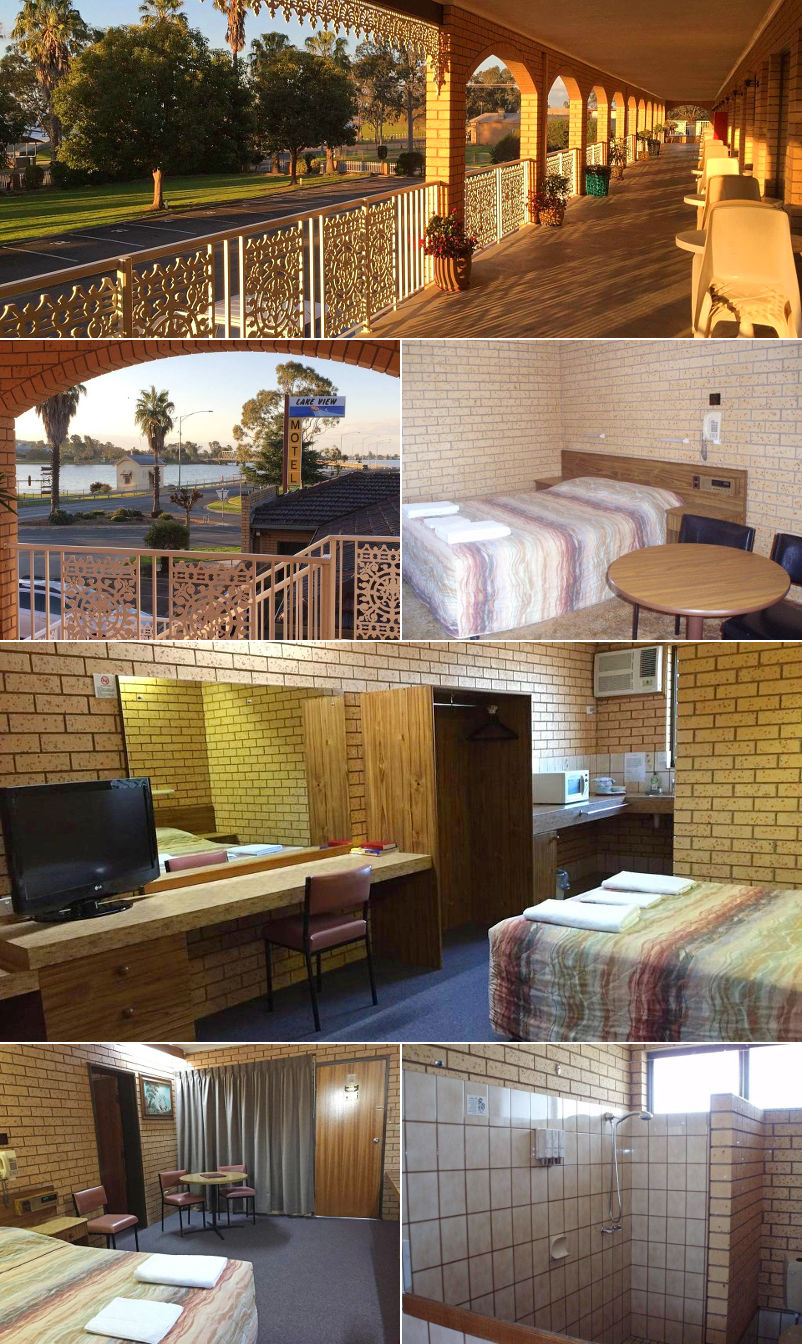 Lakeview Motel - Rooms