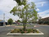 Yarrawonga / Commercial centre and shops / View south along Belmore St at Orr St