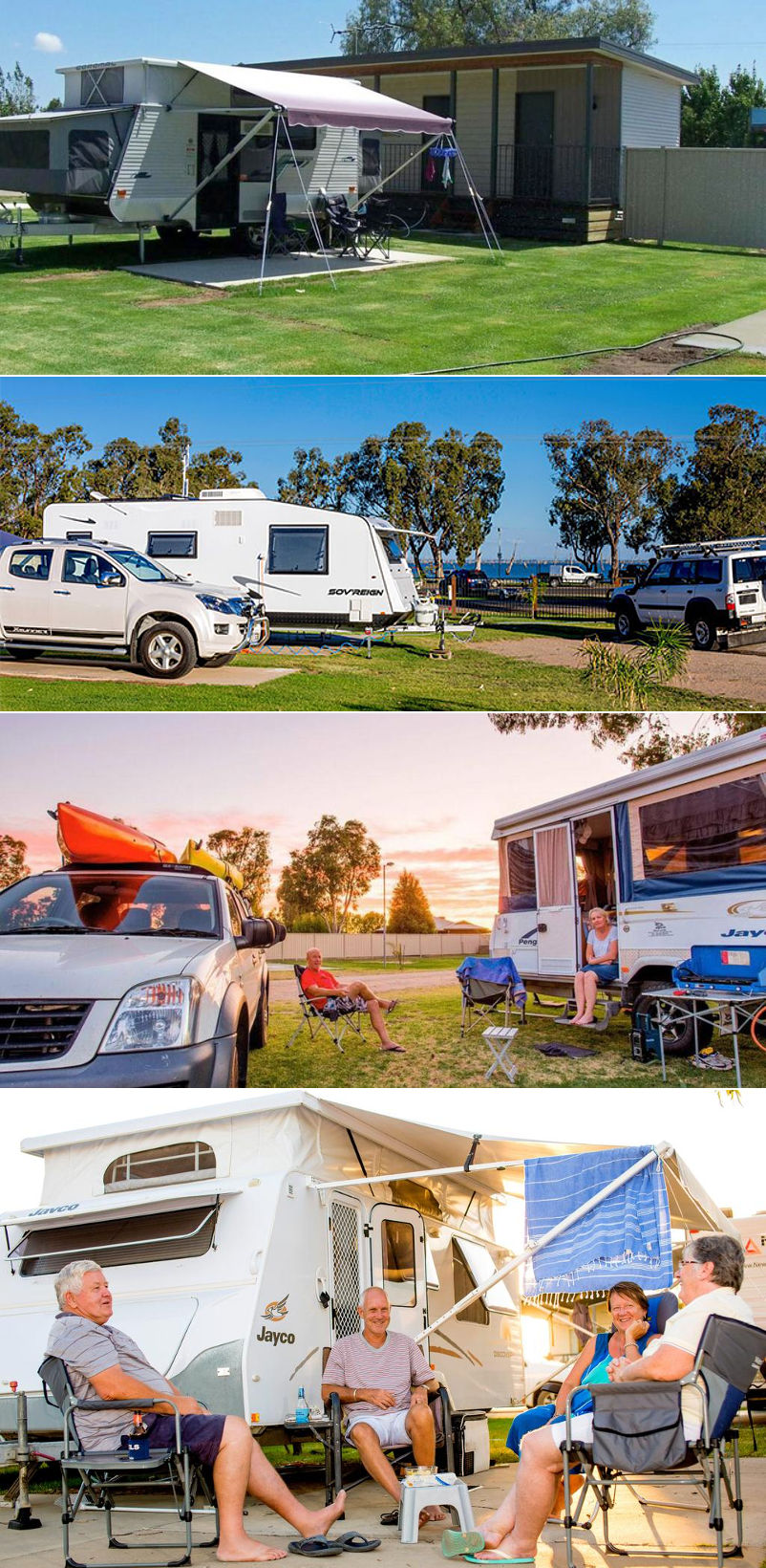 BIG4 NRMA Yarrawonga Mulwala Holiday Park - Sites