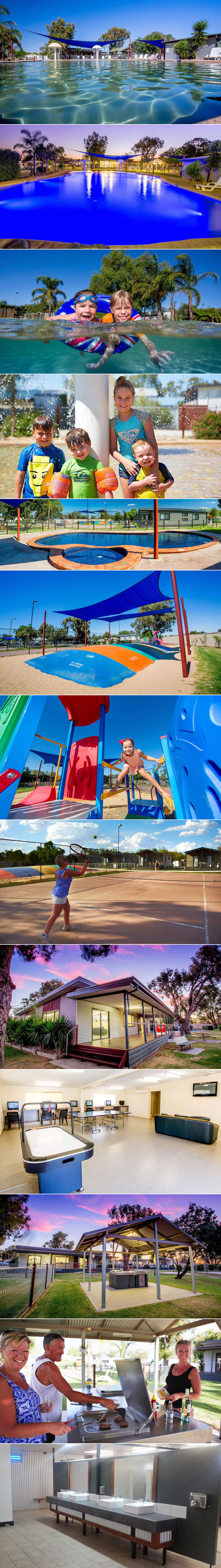 BIG4 NRMA Yarrawonga Mulwala Holiday Park - Grounds and facilities