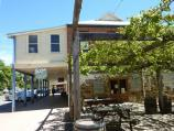 Yea / Shops and commercial centre, High Street / Beer garden at Country Club Hotel