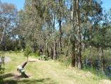 Yea / Yea Wetlands at John Cummins Reserve, Goulburn Valley Highway / Picnic areas in front of lake