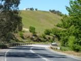Yea / Goulburn Valley Highway east of Yea / View east along Goulburn Valley Hwy towards Killingworth Rd